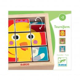 Houten puzzel - Tournifarm