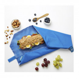 Herbruikbare foodwrap - Boc'n'Roll - Square Blue