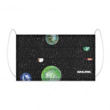 Mondkapje in bio-katoen - Marble Universe