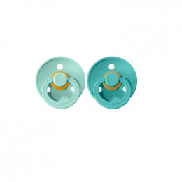 2 BIBS tutjes - mint & turquoise