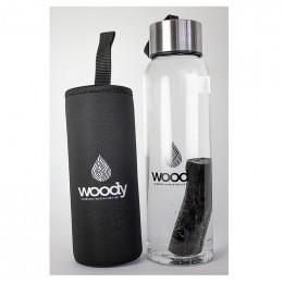 Binchotan filtre naturel charbon actif - Version SLIM pour bouteilles