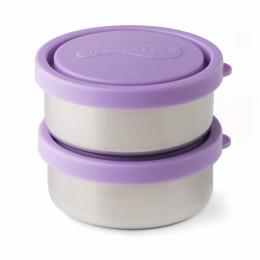 Duo de petites boîtes rondes avec couvercles - Lanvender - 150 ml