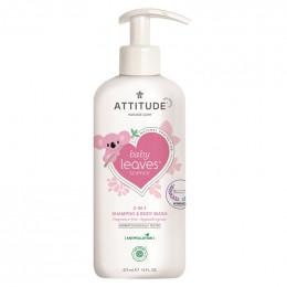 Babyshampoo en wasgel - Baby Leaves - Zonder parfum