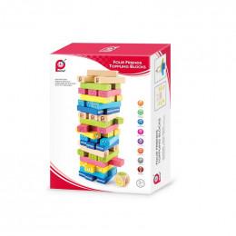 Pintoy Four Friends Toppling Blocks (55 yenga blocks)