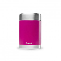 Boîte repas lunch box isotherme inox - Magenta - 650ml
