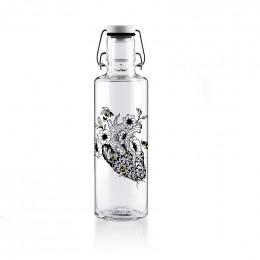 Bouteille en verre 600 ml - Fougère