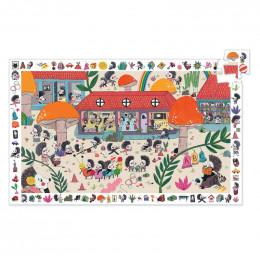 Observatie puzzel - Egelschool