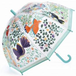 Paraplu - Bloemen & vogels