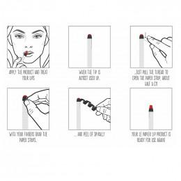 Rouge à lèvre hydratant - Le papier - 6 g - Cerise