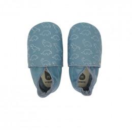 Babyslofjes - G11525 - Dino blue