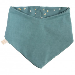 Bandana slab Lucky - Gold confetti & Magic green