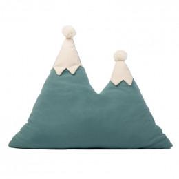 Kussen berg Snowy - Magic green