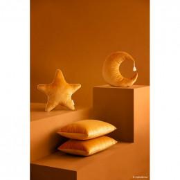 Kussen Aristote velvet - Farniente yellow