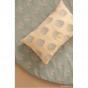 Kussentje Laurel - Blue gatsby & Cream