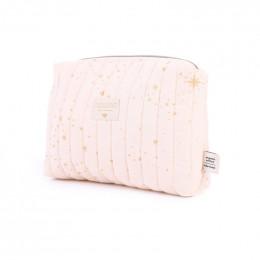 Toilettas Travel - Gold stella & Dream pink