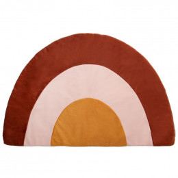 Tapijt Rainbow velvet 105X70 cm - Wild brown