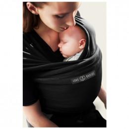 Echarpe porte bébé - Noir