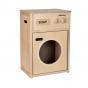 Houten wasmachine