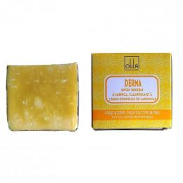 Natuurlijke plantaardige zeep handgemaakt Derma 90g