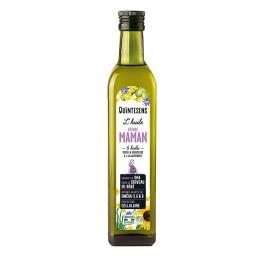 Bio voedingsolie voor toekomstige mama's en borstvoeding - Mix van 6 oliën - Eerste koude persing 500 ml