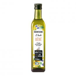 Bio voedingsolie voor baby's van 4 tot 36 maand - Mix van 6 oliën - Eerste koude persing 250 ml