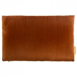 Kussen Akamba velvet 45x30 cm - Wild brown