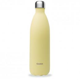 Gourde bouteille nomade isotherme - 1 litre - Pastel Citron givré