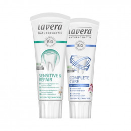 Biologische tandpasta duo - Lavera