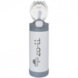 Isothermische Pow Squeak drinkfles - 295 ml - Wit