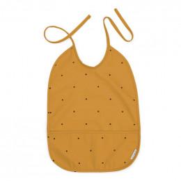 Lai waterbestendige slab Classic dot mustard