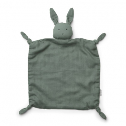 Agnete knuffeldoekje - Rabbit peppermint