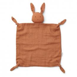 Agnete knuffeldoek - Rabbit sienna