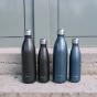 Gourde bouteille nomade isotherme - 1 litre - Roc noir