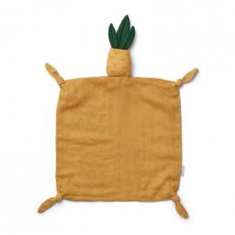 Agnete knuffeldoek - Pineapple yellow mellow