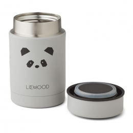 Nadja thermische bewaardoos - Panda light grey