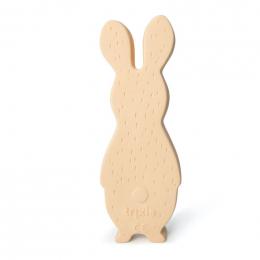 Natuurlijk rubber speeltje - Mrs. rabbit