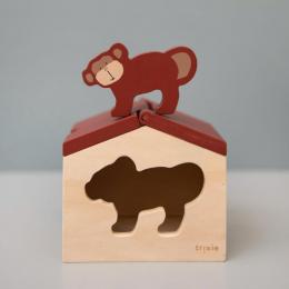 Houten huis - Mr. monkey