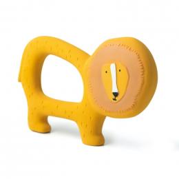 Natuurlijk rubber grijpspeeltje - Mr. lion