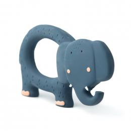 Natuurlijk rubber grijpspeeltje - Mrs. elephant