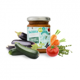 Bio Italiaanse veggiesaus met tijm - 130 g