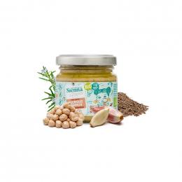Bio hummus met rozemarijn & komijn - 90 g