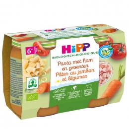 Pasta met ham groenten vanaf 6 maanden Bio 2 x 190 g
