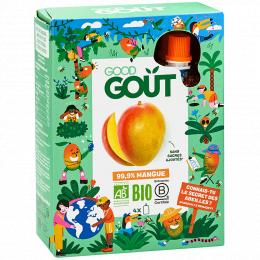 Fruit pocket KidzMango 4 x 90 g