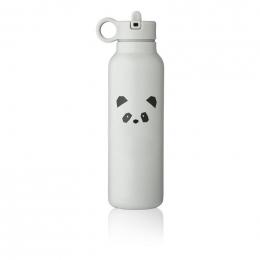 Falk drinkfles 500 ml - Panda light grey