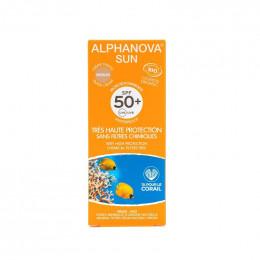 Getinte zonnecrème Bio zeer hoge bescherming SPF 50 - 50g