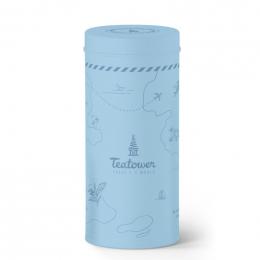Teatower hemelsblauwe doos 100 g