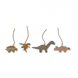 Gio hangspeeltjes - Dino golden caramel & multi mix