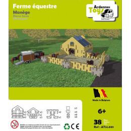 Paard boerderij - 38 onderdelen