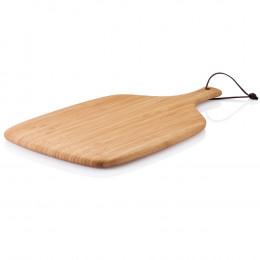 Snijplank met handvat, in bamboe 35 x 27 cm