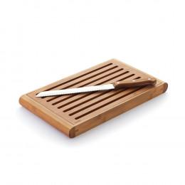 Broodplank met handvat, van bambou 35 x 21 cm